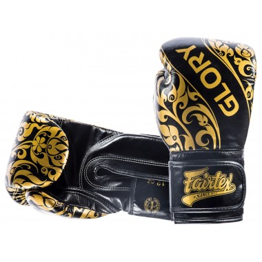 "RĘKAWICE BOKSERSKIE FAIRTEX BGVG2 (black) ""GLORY"""