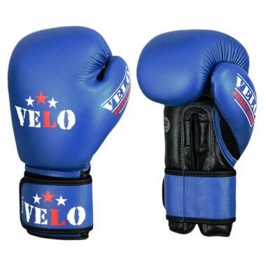 Rękawice turniejowe VELO (Aiba Approved) -niebieskie