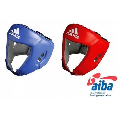 Kask bokserski ADIDAS AIBA - niebieski