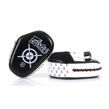 TARCZE BOKSERSKIE FAIRTEX FMV11 [black/white]