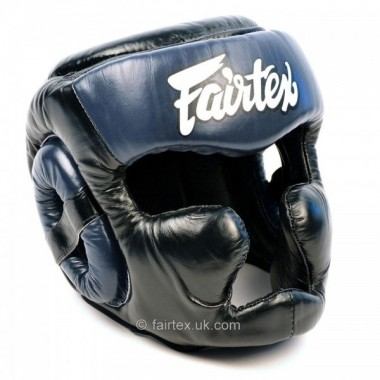 KASK BOKSERSKI FAIRTEX HG13 [black/blue]