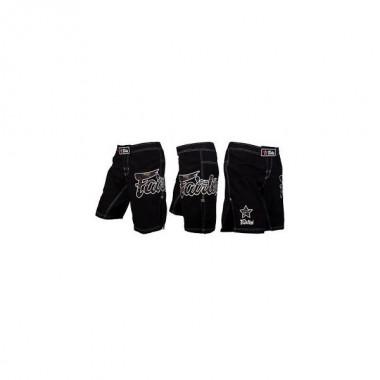 SPODENKI MMA FAIRTEX AB5 [black/camo]
