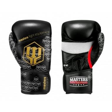 Rękawice bokserskie skórzane Masters RBT-CROSS 12 oz