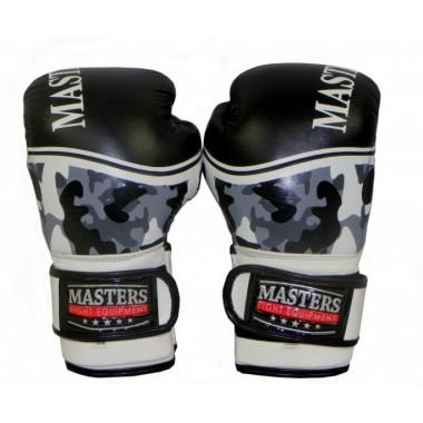 Rękawice bokserskie skórzane RBT-M CAMOUFLAGE 12 oz