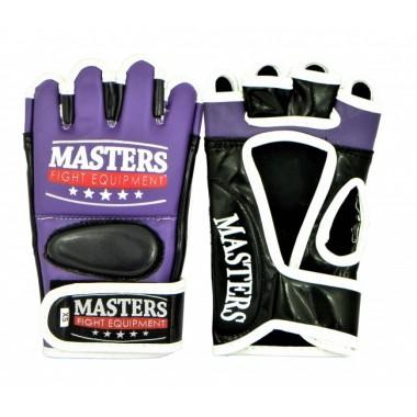 Rękawice do MMA GF-MASTERS fioletowo-czarne