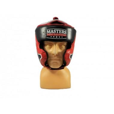 Kask bokserski skórzany sparingowy KSS-TECH
