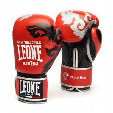 Rękawice bokserskie MUAY THAI marki Leone1947 14oz