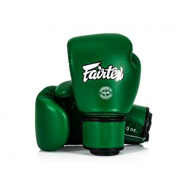 RĘKAWICE BOKSERSKIE FAIRTEX BGV16 (green)