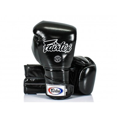 "RĘKAWICE BOKSERSKIE FAIRTEX BGV6 (black/black) ""ANGULAR SPARRING"""