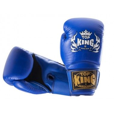"RĘKAWICE BOKSERSKIE TOP KING TKBGSA ""SUPER AIR"" (444) (blue)"