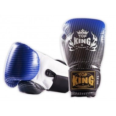 "RĘKAWICE BOKSERSKIE TOP KING TKBGSS-01BU ""SUPER STAR AIR"" (blue)"