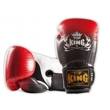 "RĘKAWICE BOKSERSKIE TOP KING TKBGSS-01RD ""SUPER STAR AIR"" (red)"