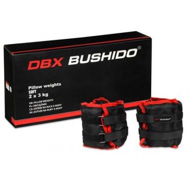 DBX Bushido Obciążniki na kostki i nadgarstki - Zestaw 2 x 3 kg
