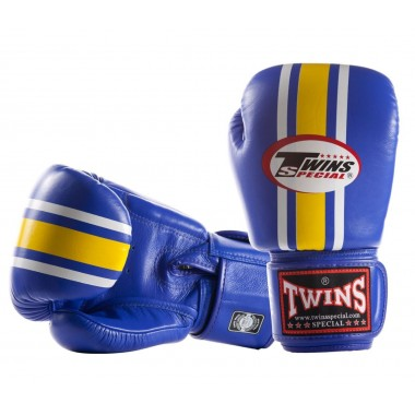 """TWINS SPECIAL FBGV-3 """"LUMPINEE"""" (blue/yellow vertical line)"""