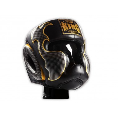 "KASK BOKSERSKI SPARINGOWY TOP KING TKHGEM-01SV ""EMPOWER CREATIVITY"" (black/silver)"