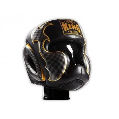 "KASK BOKSERSKI SPARINGOWY TOP KING TKHGEM-01SV ""EMPOWER CREATIVITY"" (black/silver)"