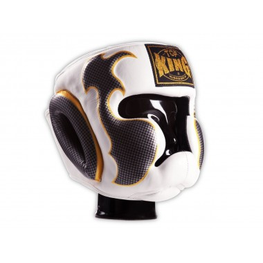 "KASK BOKSERSKI SPARINGOWY TOP KING TKHGEM-01SV ""EMPOWER CREATIVITY"" (white/silver)"