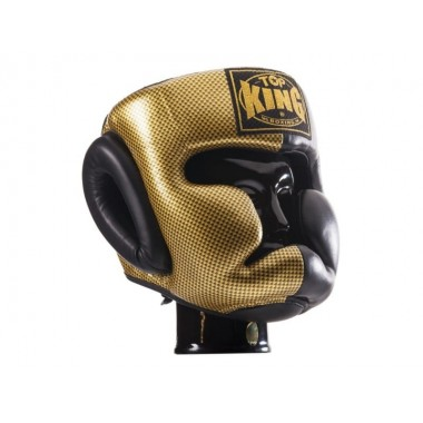 "KASK BOKSERSKI SPARINGOWY TOP KING TKHGEM-02GD ""EMPOWER CREATIVITY"" (black/gold)"