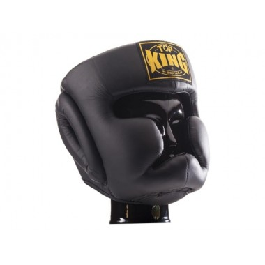 "KASK BOKSERSKI SPARINGOWY TOP KING TKHGFC(SL) ""FULL COVERAGE"" (black)"