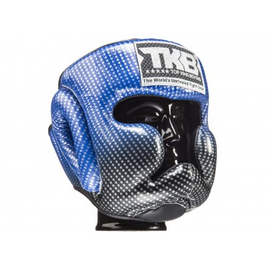 "KASK BOKSERSKI SPARINGOWY TOP KING TKHGSS-01BU ""SUPER STAR"" (blue)"