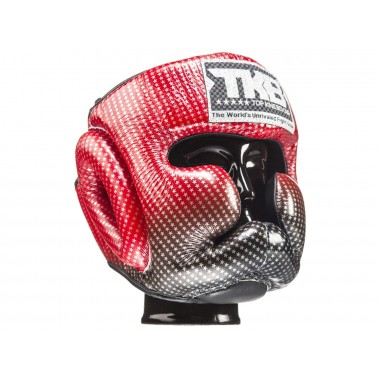 "KASK BOKSERSKI SPARINGOWY TOP KING TKHGSS-01RD ""SUPER STAR"" (red)"
