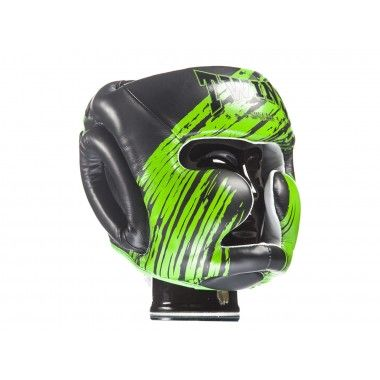 KASK BOKSERSKI SPARINGOWY TWINS SPECIAL FHG-TW2 (black/green)