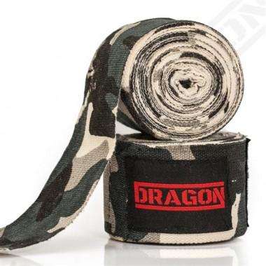 DRAGON Bandaż bokserski Camo 500cm