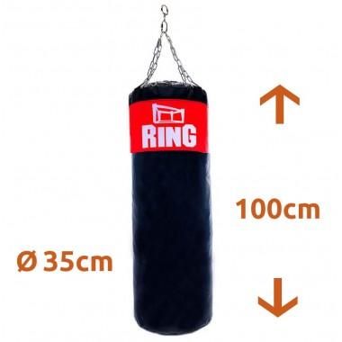 WOREK BOKSERSKI TRENINGOWY RING 100x35cm - PUSTY