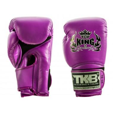 """RĘKAWICE BOKSERSKIE TOP KING TKBGSA """"SUPER AIR"""" (purple neon)"""