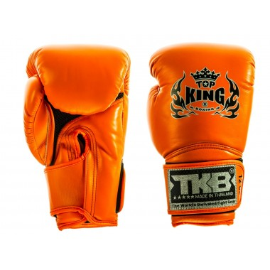 "RĘKAWICE BOKSERSKIE TOP KING TKBGSA ""SUPER AIR"" (orange neon)"