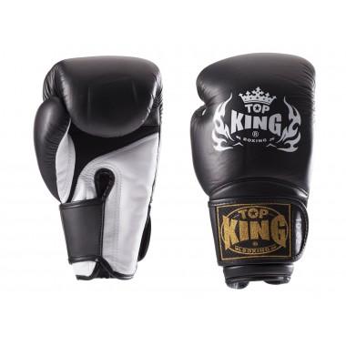 RĘKAWICE BOKSERSKIE TOP KING TKBGSA SUPER AIR (122) (blackwhite)