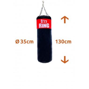 WOREK BOKSERSKI TRENINGOWY RING 130x35cm - pełny 40 kg
