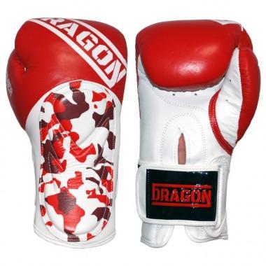 Dragon Rękawice bokserskie HAMMER 200745 czerwony