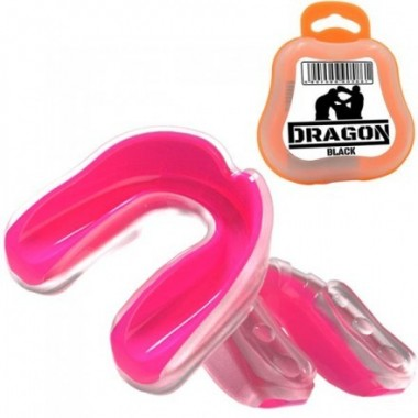 Dragon Ochraniacz na Szczękę Górną GEL 201196N różowy